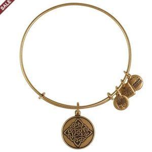 Gold Celtic Knot Bangle by Alex & Ani